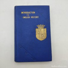 Libros antiguos: INTRODUCTION TO ENGLISH HISTORY. BURNS AND OATES. 1859. 327 PAGS.. Lote 285155518