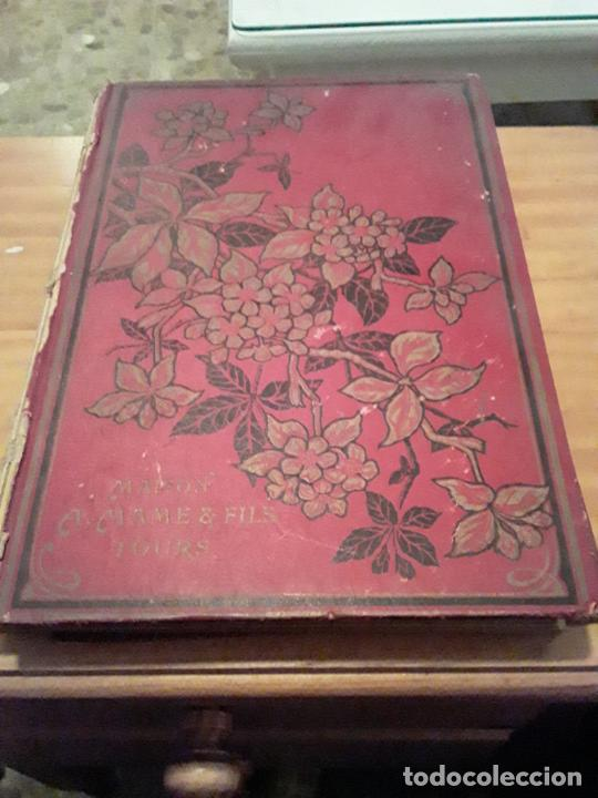 L' ILE ENVAHIE.GEORGES DE LYS EDIT.TOURS MAISON ALFRED MAME ET FILS.284 PAGINAS. (Libros Antiguos, Raros y Curiosos - Otros Idiomas)
