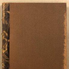 Libros antiguos: HOMENAJE A CHURRUCA Y EL PUERTO DE BILBAO. TALLERES DE IMPRENTA EMETERIO VERDES (1909). Lote 285287313