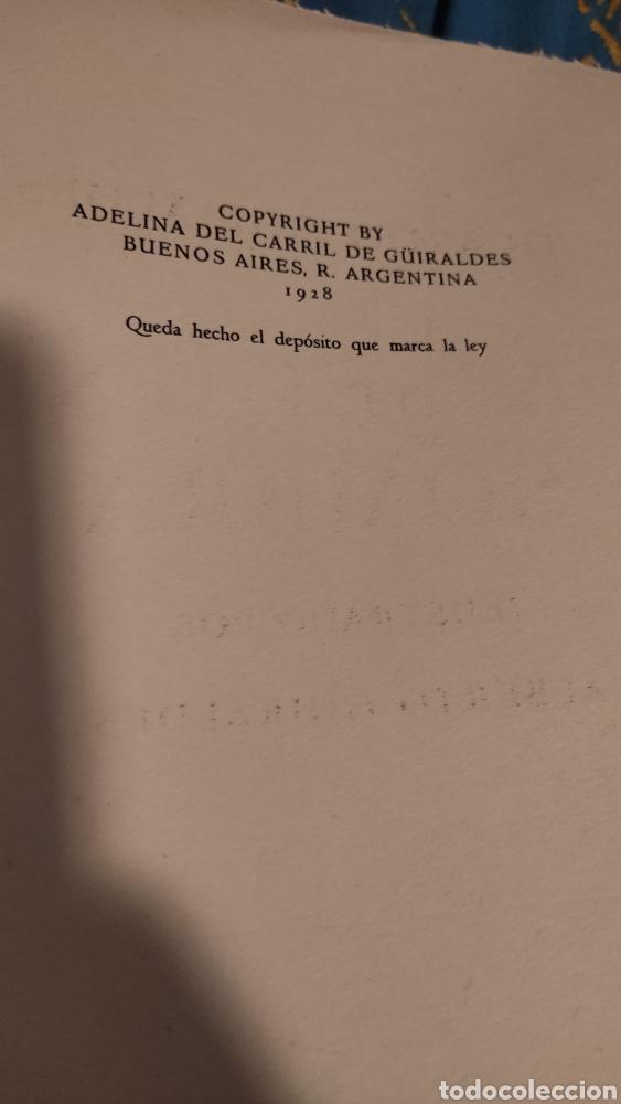 Libros antiguos: Don segundo Sombra de Ricardo Güiraldes - Foto 4 - 285331238