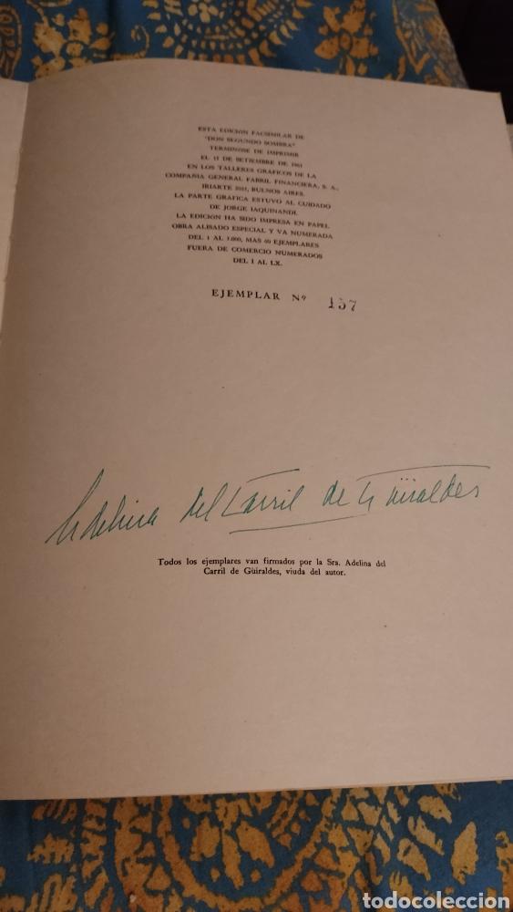 Libros antiguos: Don segundo Sombra de Ricardo Güiraldes - Foto 5 - 285331238