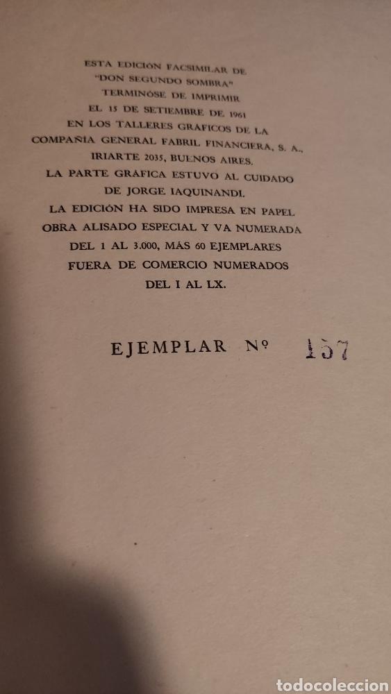 Libros antiguos: Don segundo Sombra de Ricardo Güiraldes - Foto 6 - 285331238