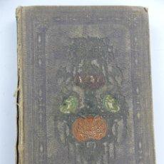 Libros antiguos: CANTOS DEL TROVADOR POR D.JOSE ZORILLA AÑO 1859. Lote 285434923