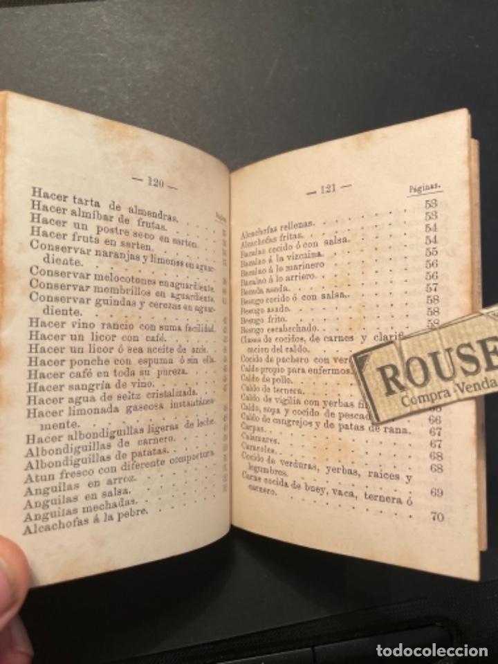 Libros antiguos: GASTRONOMIA - TESORO COMPLETO DEL HOGAR DOMESTICO POR D. EMETERIO A Y RODRIGUEZ - 1884 BILBAO IMP. V - Foto 6 - 285435943