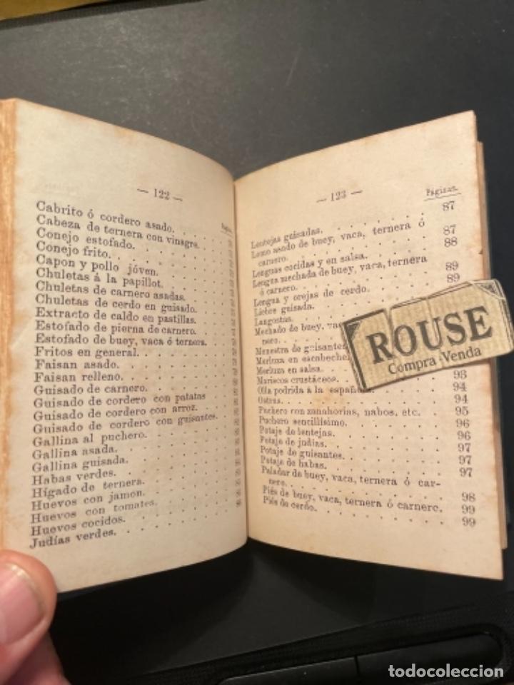 Libros antiguos: GASTRONOMIA - TESORO COMPLETO DEL HOGAR DOMESTICO POR D. EMETERIO A Y RODRIGUEZ - 1884 BILBAO IMP. V - Foto 7 - 285435943