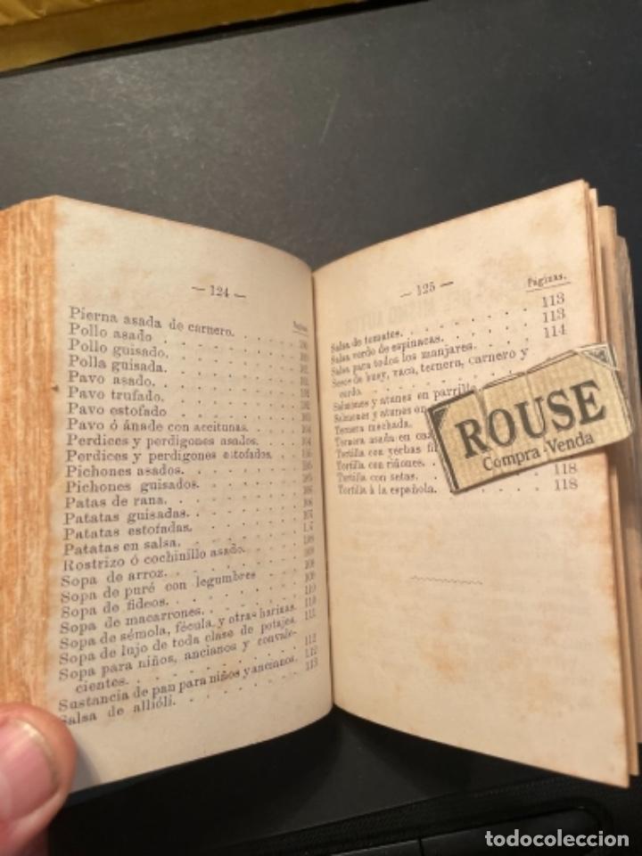 Libros antiguos: GASTRONOMIA - TESORO COMPLETO DEL HOGAR DOMESTICO POR D. EMETERIO A Y RODRIGUEZ - 1884 BILBAO IMP. V - Foto 8 - 285435943