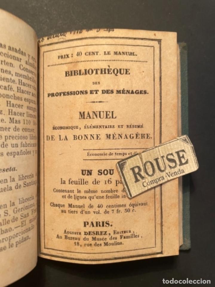 Libros antiguos: GASTRONOMIA - TESORO COMPLETO DEL HOGAR DOMESTICO POR D. EMETERIO A Y RODRIGUEZ - 1884 BILBAO IMP. V - Foto 9 - 285435943