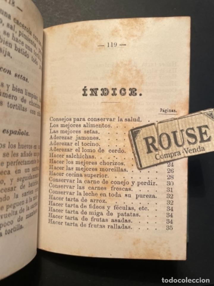 Libros antiguos: GASTRONOMIA - TESORO COMPLETO DEL HOGAR DOMESTICO POR D. EMETERIO A Y RODRIGUEZ - 1884 BILBAO IMP. V - Foto 13 - 285435943
