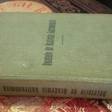 Libros antiguos: 1932 - JOSÉ SARRAU. RECETARIO DE ACADEMIA GASTRONÓMICA. Lote 286274453