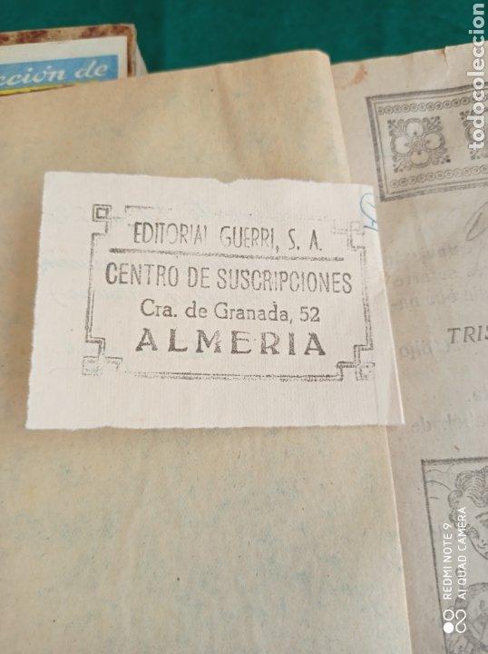 Libros antiguos: NOVELA MADRE EDIT.GUERRI VALENCIA - ALMERÍA CENTRO SUSCRIPCIÓN 3 TOMOS COMPLETA - Foto 2 - 286443578