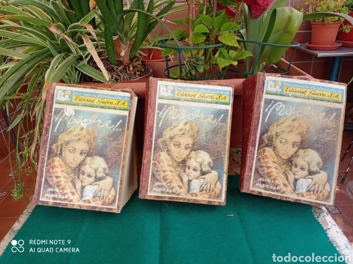 NOVELA MADRE EDIT.GUERRI VALENCIA - ALMERÍA CENTRO SUSCRIPCIÓN 3 TOMOS COMPLETA (Libros Antiguos, Raros y Curiosos - Literatura - Otros)