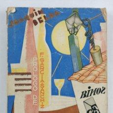 Libros antiguos: VINOS DE ESPAÑA - BELDA , JOAQUÍN - 1929. Lote 286468003