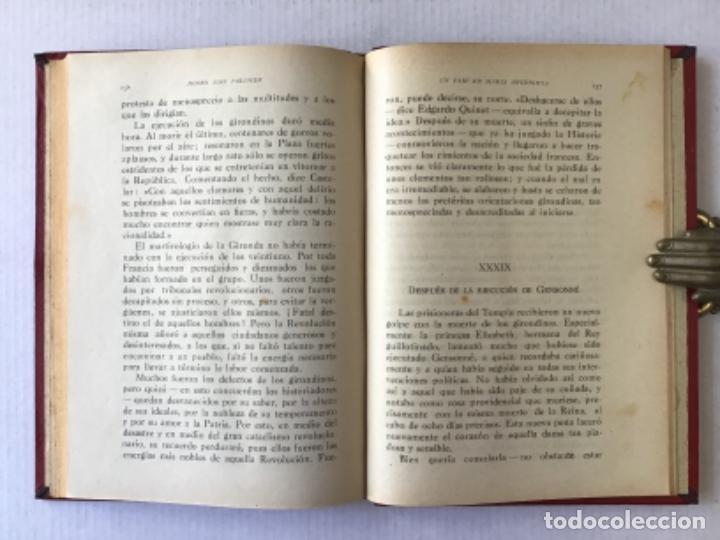 Libros antiguos: UN PAJE DE MARÍA ANTONIETA. Apuntes históricos de la Revolución francesa. - PALOMER, José. - Foto 5 - 286609378