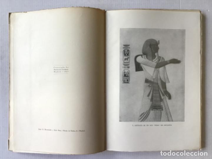 Libros antiguos: EL ARTE EGIPCIO. Problemas de su valoración. - WORRINGER, Guillermo. - Foto 3 - 286643238