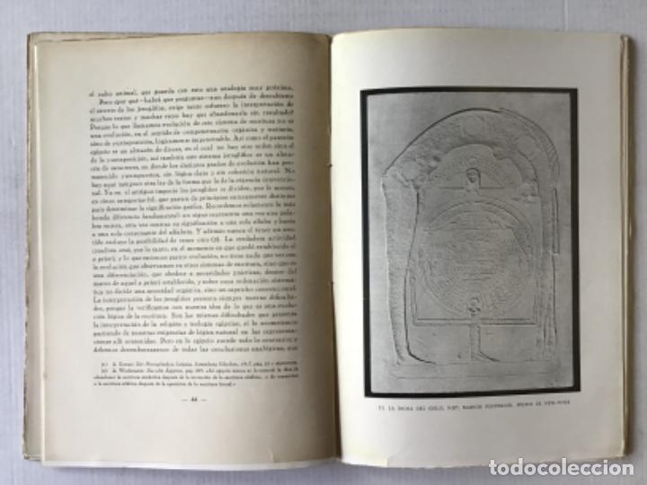 Libros antiguos: EL ARTE EGIPCIO. Problemas de su valoración. - WORRINGER, Guillermo. - Foto 4 - 286643238