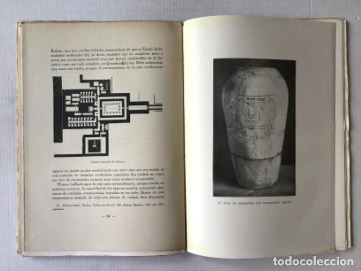 Libros antiguos: EL ARTE EGIPCIO. Problemas de su valoración. - WORRINGER, Guillermo. - Foto 5 - 286643238