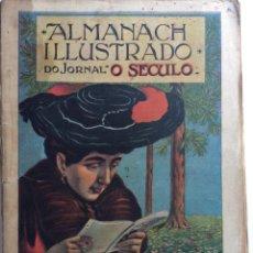 Libros antiguos: ALMANACH ILLUSTADO DO JORNAL O SECULO PARA 1905. EN PORTUGUÉS. MUY ESCASO. Lote 286670803