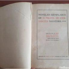 Libros antiguos: NOVELA EJEMPLAR 1916,CERVANTES. Lote 286681328