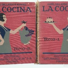 Livres anciens: AMG-1121 LIBROS LA COCINA, ISABEL GALALRDO DE ALVAREZ, CALLEJA 1922. Lote 286713218
