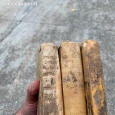 Libros antiguos: HISTORIA DE LA CONQUISTA DE MÉXICO, 1789 TRES TOMOS POR D. ANTONIO DE SOLIS. Lote 286733143
