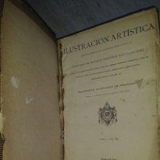 Livres anciens: ILUSTRACIÓN ARTÍSTICAS TOMO I- AÑO. 1882. MONTANER Y SIMON. EDITORES.BARCELONA 1883.. Lote 286781093