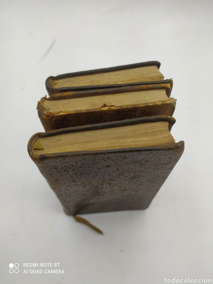 Libros antiguos: M. De Florian. Theatre(1789) 1 y 2 y Fables (1793) - Foto 2 - 286856473