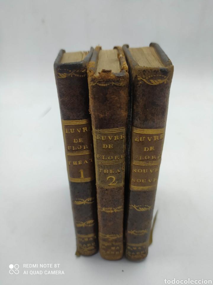 M. DE FLORIAN. THEATRE(1789) 1 Y 2 Y FABLES (1793) (Libros Antiguos, Raros y Curiosos - Literatura - Otros)