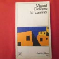 Libros antiguos: MIGUEL DELIBES EL CAMINO. Lote 286931828