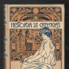Libros antiguos: FERNANDO NICOLAY: HISTORIA DE LAS CREENCIAS SUPERSTICIONES USOS Y COSTUMBRES. TOMO II. Lote 287314433