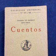 Libros antiguos: CUENTOS. Lote 287419583