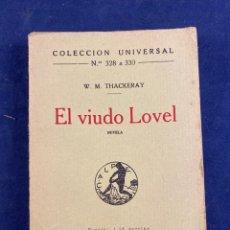 Libros antiguos: EL VIUDO LOVEL. Lote 287421518