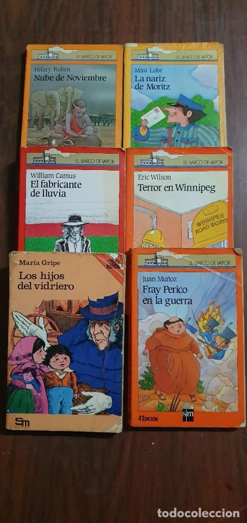 LOTE DE 6 LIBROS EL BARCO DE VAPOR TODOS EN UN ESTADO NORMAL MAS ARTICULOS (Libros Antiguos, Raros y Curiosos - Literatura Infantil y Juvenil - Otros)