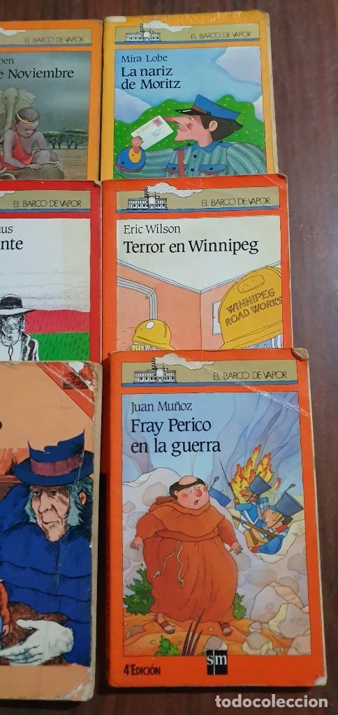Libros antiguos: LOTE DE 6 LIBROS EL BARCO DE VAPOR TODOS EN UN ESTADO NORMAL MAS ARTICULOS - Foto 2 - 287631433