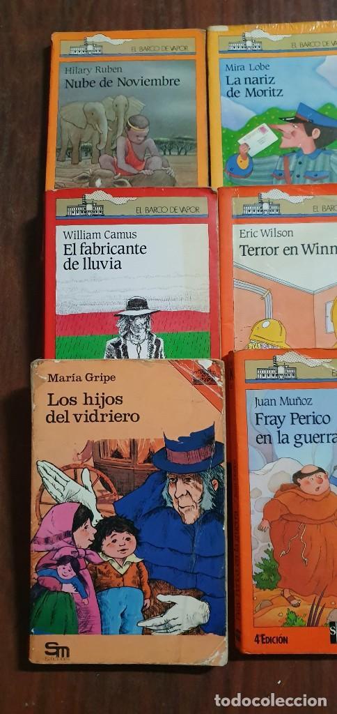 Libros antiguos: LOTE DE 6 LIBROS EL BARCO DE VAPOR TODOS EN UN ESTADO NORMAL MAS ARTICULOS - Foto 3 - 287631433