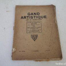 Livres anciens: 1925, ANTIGUO LIBRO DE ARTE EN FRÁNCÉS, GRAND ARTISTIQUE ART ET ESTHÉTIQUE, G. CHABOT. Lote 287645348