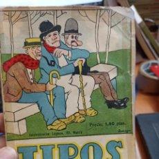 Libros antiguos: JUAN PÉREZ ZÚÑIGA. TIPOS RAROS. 1925. Lote 287689368