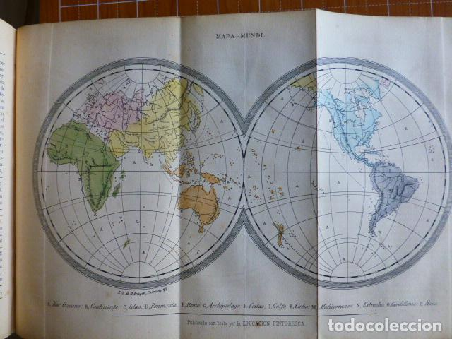Libros antiguos: EDUCACIÓN PINTORESCA PARA NIÑOS TOMÓ I MADRID IMPRENTA DE MIGUEL CAMPO REDONDO 1857 - Foto 3 - 287721598