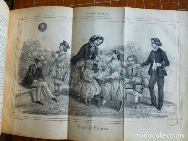 Libros antiguos: EDUCACIÓN PINTORESCA PARA NIÑOS TOMÓ I MADRID IMPRENTA DE MIGUEL CAMPO REDONDO 1857 - Foto 6 - 287721598