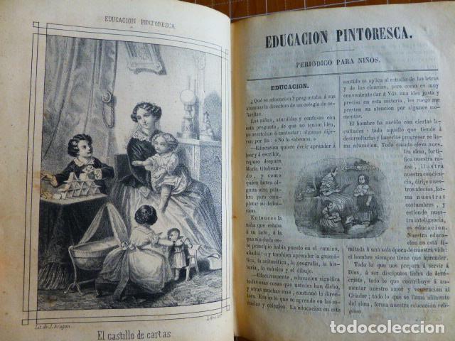 Libros antiguos: EDUCACIÓN PINTORESCA PARA NIÑOS TOMÓ I MADRID IMPRENTA DE MIGUEL CAMPO REDONDO 1857 - Foto 7 - 287721598