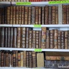 Libros antiguos: LOTE DE LIBROS DEL SIGLO XVIII. Lote 287733633
