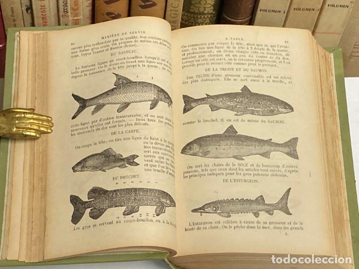 Libros antiguos: AÑO 1899 - LA CUISINIERE DE LA CAMPAGNE ET DE LA VILLE COUSINE ECONOMIQUE POR AUDOT - COCINA LIBRO - Foto 3 - 287757493