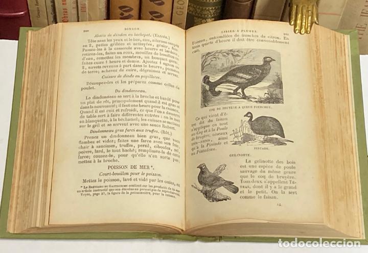 Libros antiguos: AÑO 1899 - LA CUISINIERE DE LA CAMPAGNE ET DE LA VILLE COUSINE ECONOMIQUE POR AUDOT - COCINA LIBRO - Foto 5 - 287757493