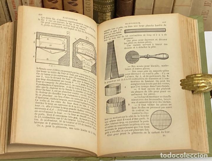 Libros antiguos: AÑO 1899 - LA CUISINIERE DE LA CAMPAGNE ET DE LA VILLE COUSINE ECONOMIQUE POR AUDOT - COCINA LIBRO - Foto 6 - 287757493