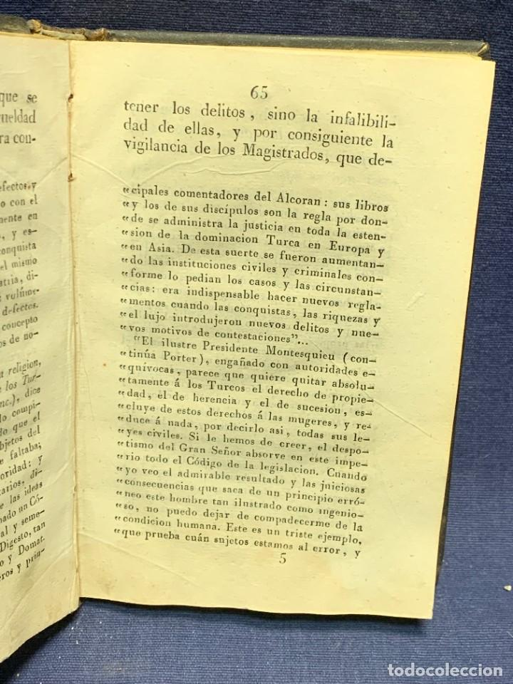 Libros antiguos: DISCURSO SOBRE LAS PENAS MANUEL DE LARDIZABAL Y URIBE 2ª EDICION 1828 15X10X3CMS - Foto 6 - 287916708