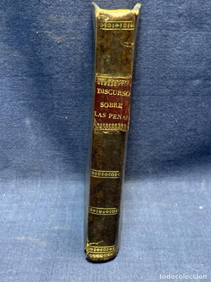 Libros antiguos: DISCURSO SOBRE LAS PENAS MANUEL DE LARDIZABAL Y URIBE 2ª EDICION 1828 15X10X3CMS - Foto 9 - 287916708