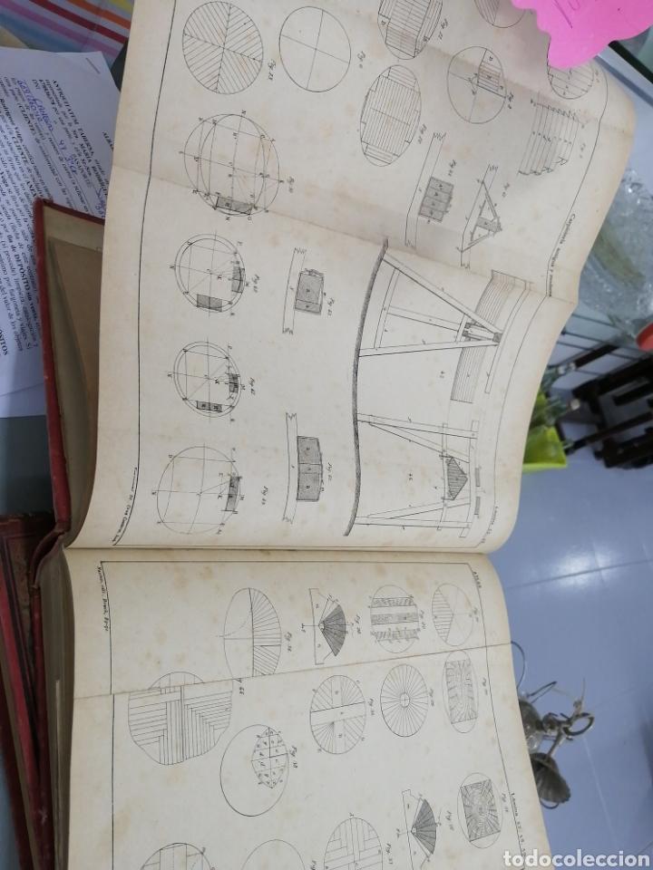 Libros antiguos: Tomos Carpinteria antigua y moderna 1893 - Foto 7 - 287930838