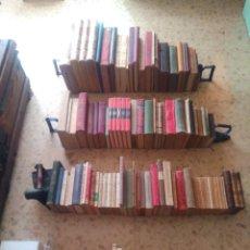Alte Bücher: ESPECTACULAR BIBLIOTECA - GRAN LOTE DE 185 LIBROS ANTIGUOS - DESDE EL SIGLO XVIII - LOTAZO - VER !!. Lote 288016823