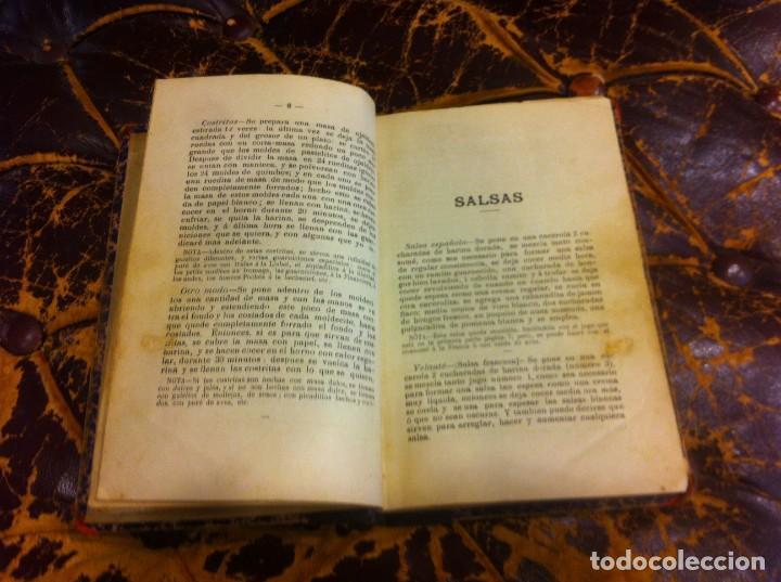 Libros antiguos: FRANCISCO FIGUEREDO. EL ARTE CULINARIO. ESCUELA DE COCINA Y PASTELERÍA MODERNA. 1889. BUENOS AIRES. - Foto 5 - 288075893