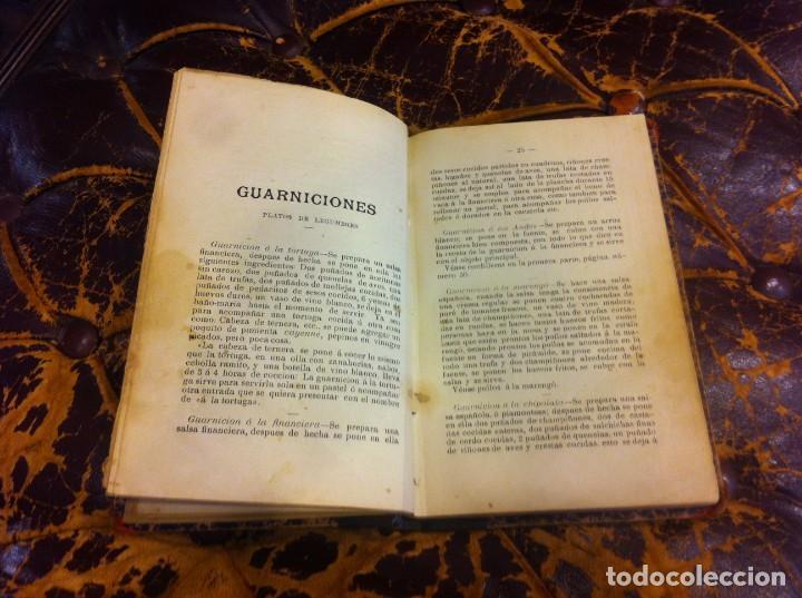 Libros antiguos: FRANCISCO FIGUEREDO. EL ARTE CULINARIO. ESCUELA DE COCINA Y PASTELERÍA MODERNA. 1889. BUENOS AIRES. - Foto 6 - 288075893