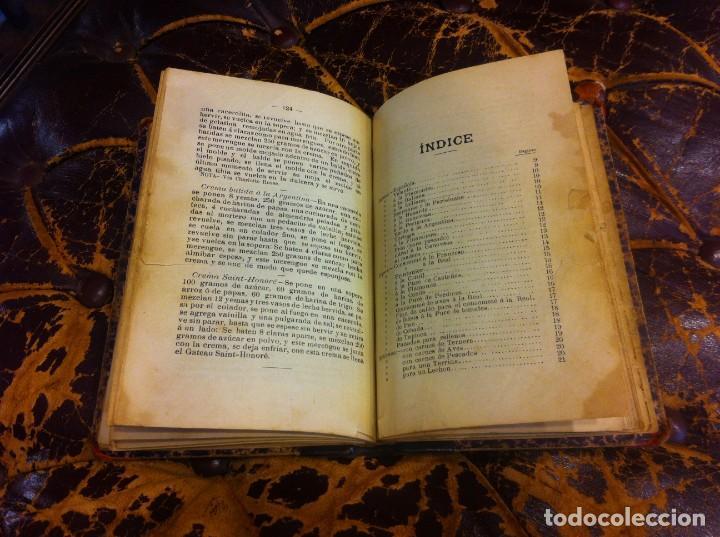 Libros antiguos: FRANCISCO FIGUEREDO. EL ARTE CULINARIO. ESCUELA DE COCINA Y PASTELERÍA MODERNA. 1889. BUENOS AIRES. - Foto 9 - 288075893
